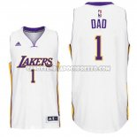 Canotte NBA Festa del papa Lakers Dad Bianco