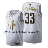 Canotte Golden Edition Houston Rockets Robert Covington 2019-20 Bianco