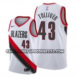 Canotte Portland Trail Blazers Anthony Tolliver Association Bianco