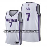Canotte Sacramento Kings Kyle Guy Association 2019-20 Bianco
