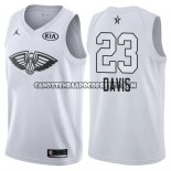 Canotte NBA All Star 2018 Pelicans Anthony Davis Bianco