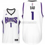 Canotte NBA Festa del papa Kings Dad Bianco