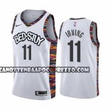 Canotte Brooklyn Nets Kyrie Irving Citta 2019-20 Bianco