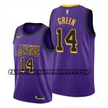 Canotte Los Angeles Lakers Danny Green Citta Viola