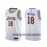 Canotte Los Angeles Lakers Dion Waiters Association Bianco