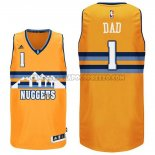 Canotte NBA Festa del papa Nuggets Dad Giallo