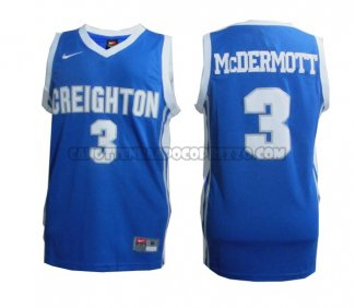 Canotte NBA NCAA Creighton Bluejays Doug McDermott Blu