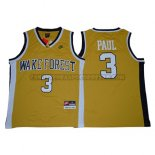 Canotte NBA NCAA Wake Forest Demon Deacons Chris Paul Dorado