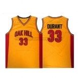 Canotte NBA Oak Hill Durant Giallo