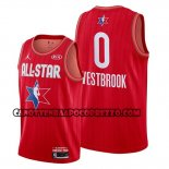 Canotte All Star 2020 Houston Rockets Russell Westbrook Rosso