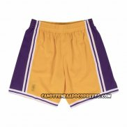 Pantaloncini Los Angeles Lakers Mitchell & Ness Giallo