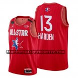 Canotte All Star 2020 Houston Rockets James Harden Rosso