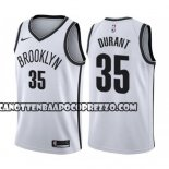 Canotte Brooklyn Nets Kevin Durant Association 2019-20 Bianco