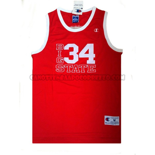 Canotte NBA Big State Shuttlesworth Rosso