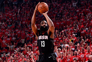 Canotte NBA Houston Rockets